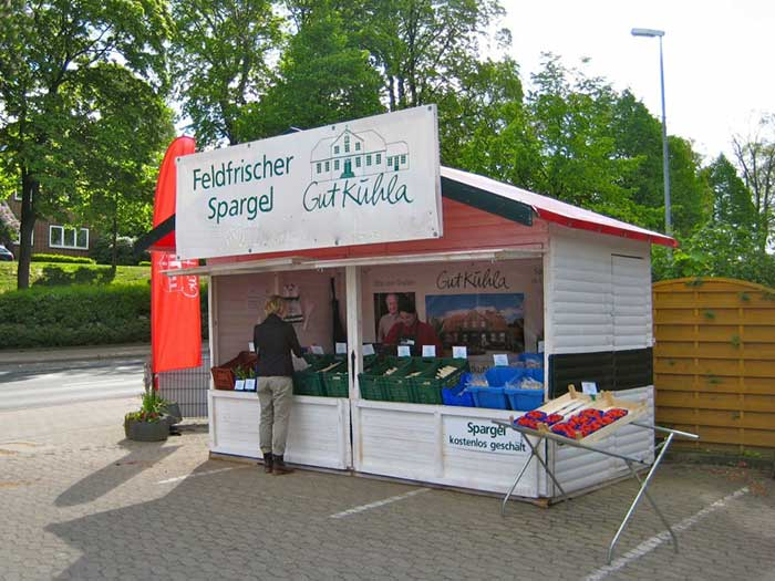 Gut Kuhla Stand Stade bei Heyderich
